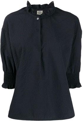 Baum und Pferdgarten Margit flared collar blouse