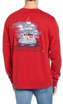 Vineyard Vines Santa Sportsfishing Pocket T-Shirt