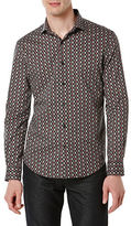 Perry Ellis Big and Tall Patterned Sportshirt