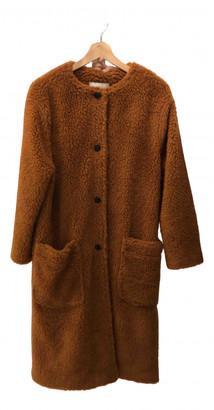 American Vintage Khaki Wool Coats