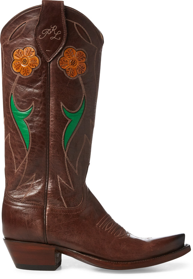 d99d7cd6950 Selene Leather Cowboy Boot