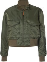 Nili Lotan cropped bomber jacket