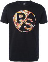 Paul Smith logo print T-shirt - men - Organic Cotton - S