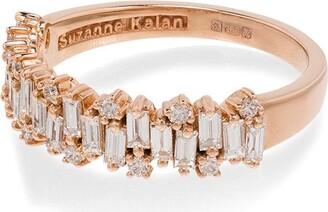 Suzanne Kalan 18kt Gold Diamond Eternity Ring