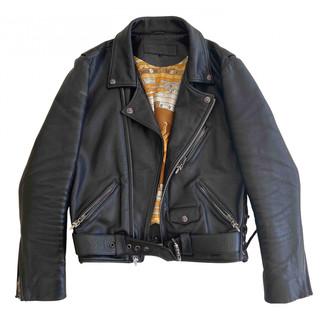 Hermã ̈S HermAs Black Leather Jackets
