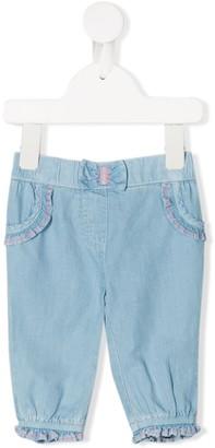 Billieblush Ruffle-Trimmed Jeans