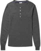 Schiesser - Karl Heinz Cotton-jersey Henley T-shirt