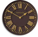 Newgate Coach House Wall Clock - Chocolate Black