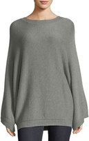 Ralph Lauren Cashmere-Blend Drop-Shoulder Sweater