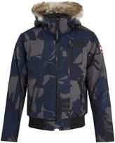Canada Goose Borden fur-trimmed bomber jacket