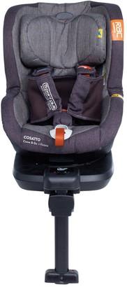 Cosatto RAC Come & Go i-Size 360 Rotate Car Seat - Charcoal Mister Fox
