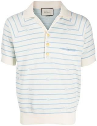 Gucci GG striped polo shirt