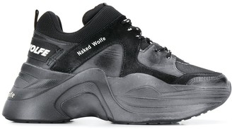 Naked Wolfe Track low-top sneakers