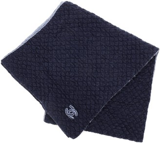 Chanel Woven CC Scarf Cashmere and Silk