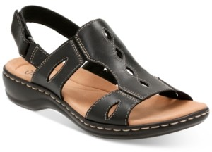 Clarks Collection Women's Leisa Lakelyn Flat Sandals Women's Shoes