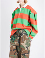 Marc Jacobs Oversized striped jersey sweatshirt