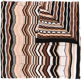 Missoni zig zag crochet knit scarf - women - Viscose/Cotton/Polyamide - One Size