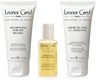 Leonor Greyl Luxury Travel Kit for Colored & Highlighted Hair