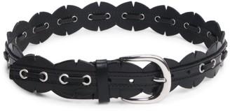 Isabel Marant Tany Scalloped Leather Belt