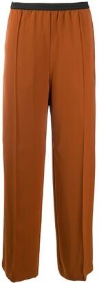 Plan C Wide-Leg Trousers