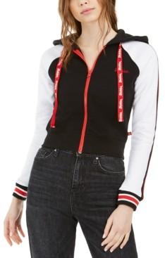 Dickies Junior's Hooded Zip-Front Cotton Jacket