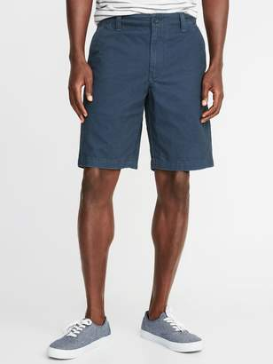 Old Navy Straight Lived-In Khaki Shorts for Men - 10-inch inseam
