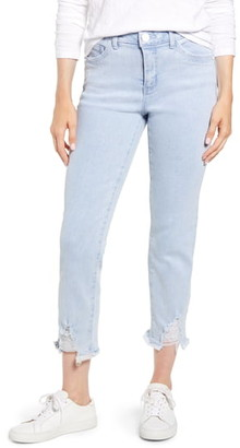 Wit & Wisdom Luxe Touch Ripped Crop Jeans