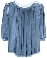 Chloé Denim Blouse