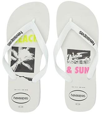 Havaianas Top Beach Sandal (White) Men's Shoes