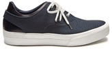 Oamc Deck low-top canvas and leather trainers