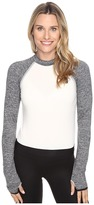 New Balance Sport Style Long Sleeve Cropped Top