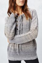 Love Stitch Lace-Up Sweater