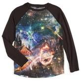 Stella McCartney Girl's 'Galaxy' Raglan Sleeve Tee