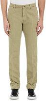 Barneys New York MEN'S COTTON-LINEN PANTS