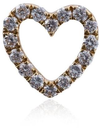 Loquet Diamond Heart Charm