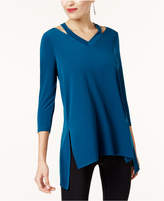 Alfani Cutout High-Low Tunic, Created for Macy's
