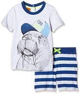 Pumpkin Patch Boy's Walrus Relaxed Pj Set Plain Pyjama Set,3 (Manufacturer Size:2)