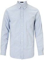 Samsoe & Samsoe Liam Stripe Oxford Shirt, Blue