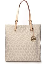 Michael Kors Signature Jet Set North South Tote in PVC
