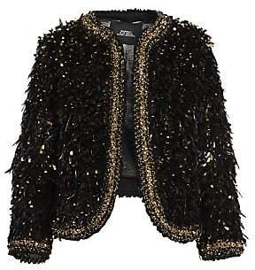 Marc Jacobs Women's Runway Embellished Wool Bouclé Jacket