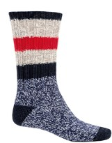 Woolrich Rugby Stripe Ragg Socks - Merino Wool, Crew (For Men)