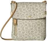 Calvin Klein Raelynn Monogram Crossbody Cross Body Handbags
