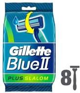 Gillette Blue II Plus Slalom 8 Razors