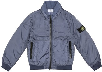 Stone Island Junior Hooded technical jacket