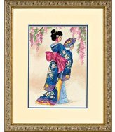 Dimensions Gold Petite: Count Cross Stitch: Elegant Geisha