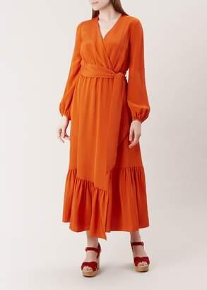Hobbs Valencia Silk Dress