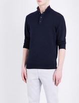 Tommy Hilfiger Stand collar cotton-blend jumper