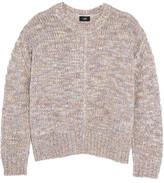 Line Stretch-Knit Sweater