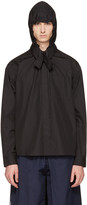 Craig Green Black Hooded Shirt