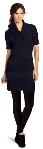 Lilla P Women's Elbow Sleeve Sweater Dress